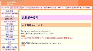 英文法の授業を進めるように。