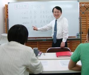 英会話スクールの授業